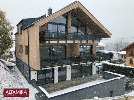Ramsau am Dachstein - Erstbezug nach Fertigstellung: Wenn die großzügige Terrasse im Sommer zum Wohnzimmer wird