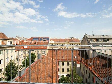 ** Alle guten Dinge sind im DRITTEN ** 3-Zimmer DG-Erstbezug mit grandioser Dachterrasse zwischen Rochusmarkt und Stadtpark