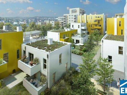 Die Sonnenblumenhäuser im Wildgarten