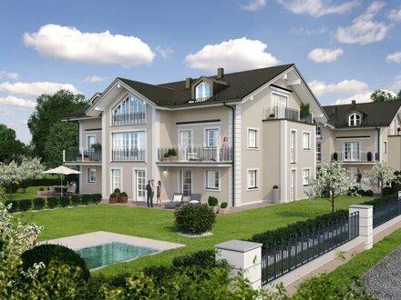 Wohnpark Chiemsee: 4-Zimmer-Gartenmaisonette!