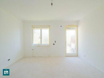 Belagsfertige 124 m² Wohnung mit vielen Gestaltungsmöglichkeiten in zentraler Grünruhelage