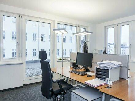 moderne Büroräumlichkeiten - voll ausgestattet und repräsentativ