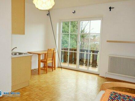 Für Wochenendheimfahrer: 1,5-Zimmer-Wohnung in Ruhelage Siezenheim