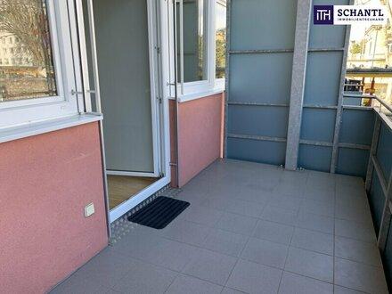 WOW: TOLLE 2-Zimmer Wohnung mit großem Balkon in der Rembrandtstraße 11 - Nähe LKH und UNI + Tiefgarage!