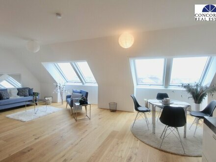 TOLLER BLICK ÜBER WIEN - 3 Zimmer Erstbezug im Dachgeschoß, Kühlung vorbereitet