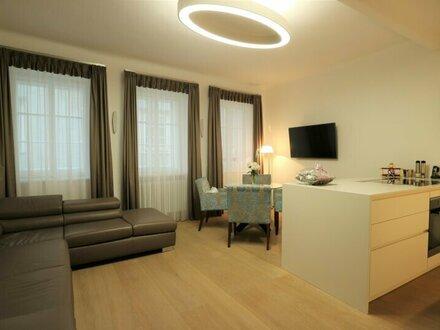 Hochwertige, vollmöblierte 2-Zimmer-Wohnung - Altstadt