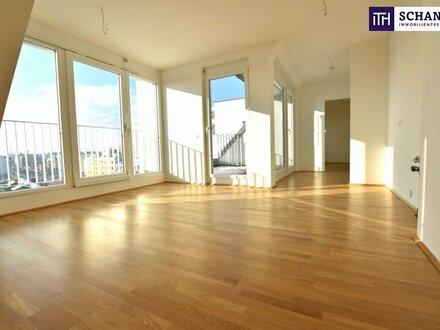 Coole Dachgeschoß-Wohnung! 3-Zimmer Erstbezug mit herrlicher Südterrasse!