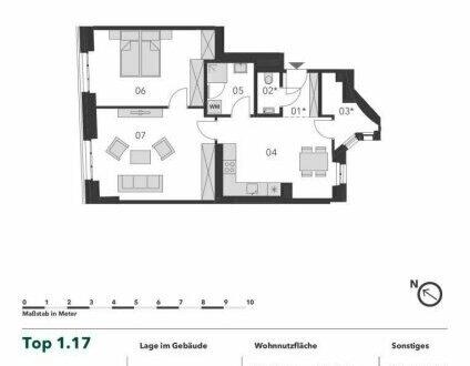+++ GENERALSANIERTER ALTBAU +++ Moderne 2 Zimmer Eigentumswohnung in bester Infrastruktur