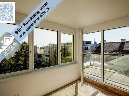 Nähe Alte Donau - sonnige DG Wohnung mit Terrasse!
