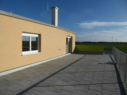 Vermietete 3 Zimmer Wohnung mit 50 m² Dachterrasse für Anleger - 3,3 % Rendite