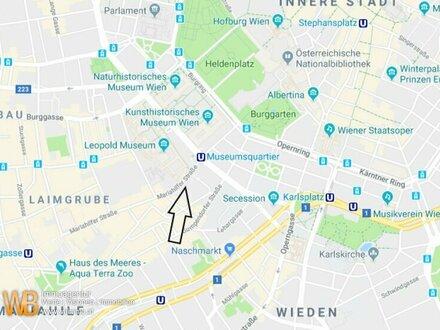 1A + Beste Lage + Fussgängerzone, Mariahilferstrasse beim Museumsquartier