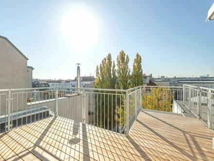 ++VIDEOBESICHTIGUNG++ Premium 2,5 Zimmer DG-ERSTBEZUG mit Blick aufs Wasser, großartiger Dachterrasse u. Balkon!