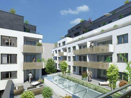 Goldegg Gardens: exklusiver 38m² Neubau mit Loggia - 1040 Wien