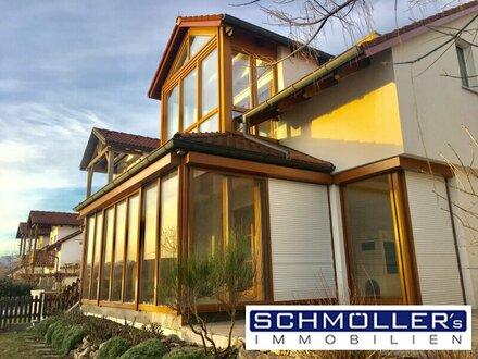 Großzügiges Haus zur Miete am Linzerberg - Schöne Doppelhaushälfte mit Wintergärten