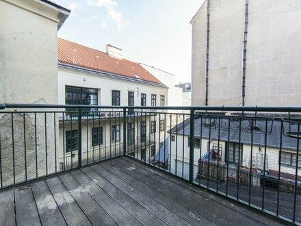 Schön sanierte 2-Zimmer Wohnung mit Balkon in 1040 Wien zu vermieten!