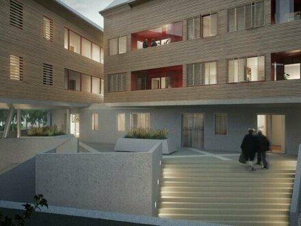 Exquisite, coole 3-Zimmer DG Atelierwohnung mit 2 Dachterrassen