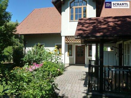 ITH: WOW! Entzückendes Einfamilienhaus + Großzügige Gewerbe-/Produktionshalle in Zentrumslage + Kerngebiet!