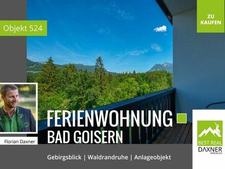 Anleger- Ferienwohnung mit Rundum-sorglos-Paket in Waldrandruhelage von Bad Goisern am Hallstättersee!!