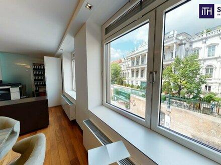 """""""Mit virtuellem Rundgang"""" - Stilvolle Büroräumlichkeiten mit Concierge und herrlichem Blick auf das Palais Coburg! BESTLAGE…"""