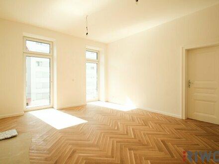 ++ Altbau-Erstbezug ++ 2 Zimmer BALKONWOHNUNG mit perfektem Grundriss