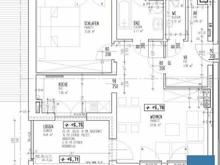 Objekt 338: Geräumige 2-Zimmerwohnung in Aurolzmünster, Top 6