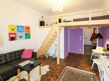 Gemütliche 1-Zimmerwohnung mit Galerie