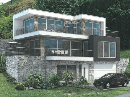 """Grundstück mit Baugenehmigung für eine Architektenvilla im """"Winterparadies Saalbach"""""""