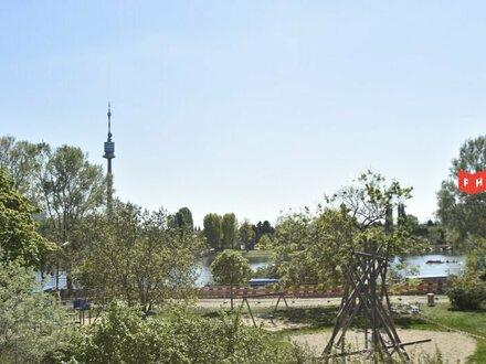 Wohnung am Park mit Blick auf die Alte Donau | Erstbezug | LIV-Projekt
