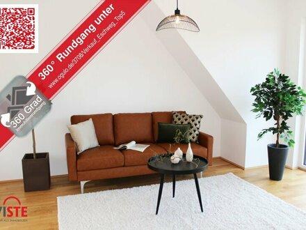 City-Life mit genussvollem Grünblick, innovativem Raumkonzept und gigantischer Dachterrasse!