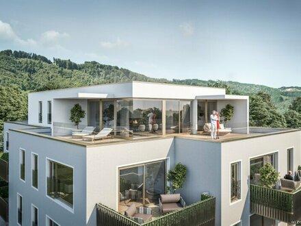 Top 12 - Villa Stoanlbrunn - Penthouse mit traumhaften Rundumblick