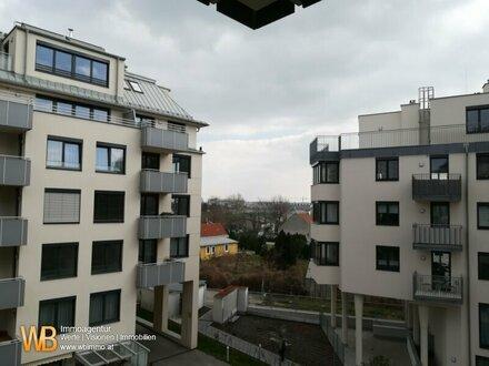 WOHNEN AN DER ALTEN DONAU! 2 Zimmer im ruhigen Innenhof mit Balkon!