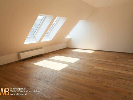 Hochwertige 3-Zimmer DG-Maisonette, Erstbezug, riesige Dachterrassen!!!