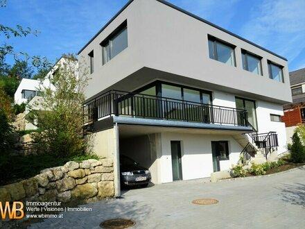 220m² WNFL - Erstbezug: 54m² Wohnküche, 4 Schlafzimmer, 50m² Büro, Terrasse, Garten und 3 PKW-Stellplätze