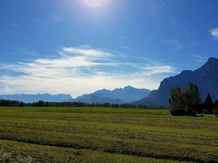 Traumhaftes Panoramagrundstück in Leopoldskron-Moos!