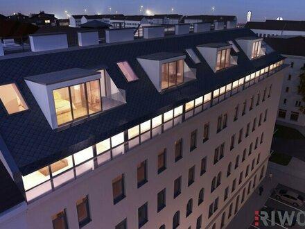 Wien´s beste Mischung - Dachgeschoss | Weitblick | UBahn- u. Donaunähe | uneinsichtig | hohe Räume und und und