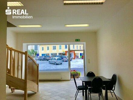 Geschäftslokal am Hauptplatz von Pöggstall