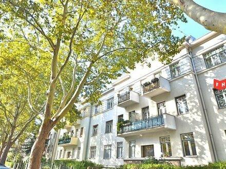 Südseitige 4,5 Zimmer Altbaumiete inkl. 39m² Souterrain und gartenseitiger Loggia Nähe U4 Ober St. Veit
