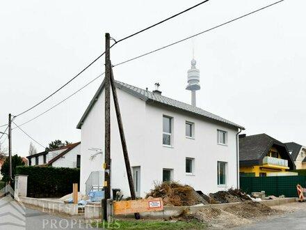Erstbezug-Haus mit Garten auf Eigengrund Nähe Donaupark