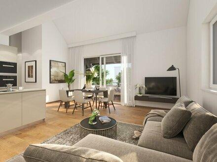 Dachterrassen - Neubauwohnung in Oberndorf