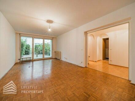 Charmante 2-Zimmer Garten-Terrassenwohnung, Nähe Strauß-Lanner-Park