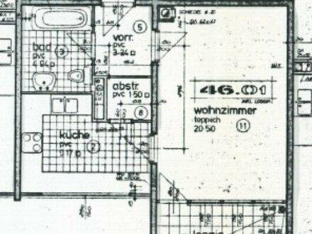 Provisionsfreie Wohnung mit 1 Zimmer und Garage in der Luzegasse 1110 Wien zu vermieten!