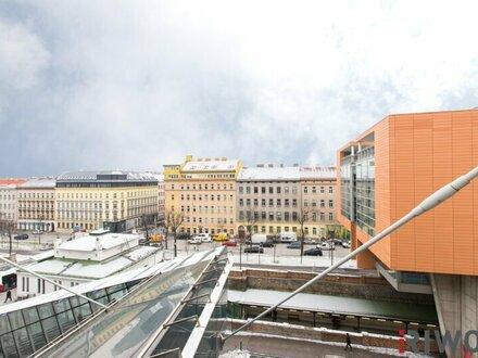 BÜRO MIT GROßER TERRASSE bei Burggasse-/Stadthalle, Top-Infrastruktur und Ausstattung!