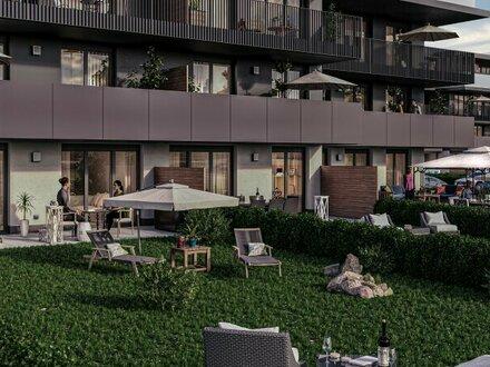 Helle 3-Zimmer-Wohnung mit Terrasse & großem Garten