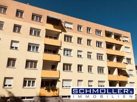 Gemütliches Wohnen in Traun! Sehr gepflegte 3-Zimmer Wohnung mit kleiner Loggia in Trauner Toplage