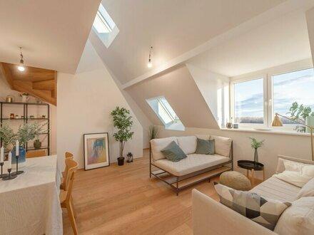 ++VIDEOBESICHTIGUNG++ Premium 3-Zimmer Dachgeschoss-ERSTBEZUG mit Blick aufs Wasser und fantastische Dachterrasse!