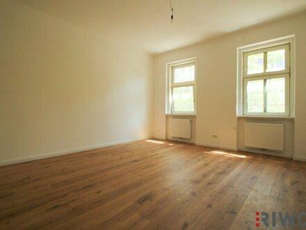 ++ Altbau-ERSTBEZUG ++ 2- Zimmer Wohnung mit baubewilligtem Balkon und grandiosem Grünblick gegenüber vom Steinbauerpark