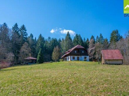 Klassisches Landhaus in traumhafter Waldrandlage in Altmünster/Neukirchen!
