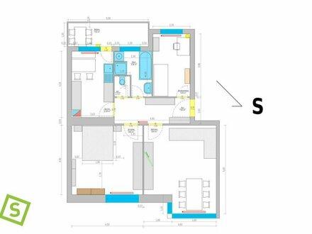 Innsbruck Innenstadt - sehr schöne 3 Zimmerwohnung