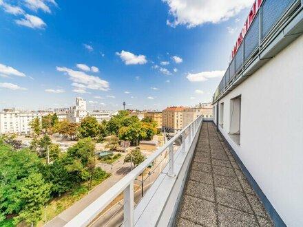 gemeinsame GESTALTUNGSMÖGLICHKEIT knapp 600m2 sehr helle Bürofläche am Reumannplatz über 2 Etagen mit 2 Terrassen zu vermieten!