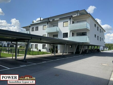 Neuwertige perfekt eingeteilte 2 Zimmerwohnung mit Carport!